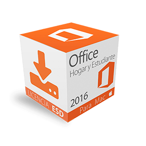 Office Home and Student 2016 para Mac ESD