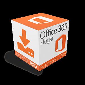 Office 365 Home Multilenguaje Suscripción por 1 Año ESD