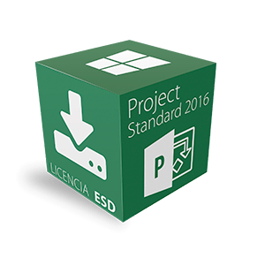Project Standard 2016 para Windows Multilenguaje ESD