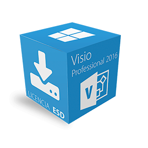 Visio Professional 2016 para Windows Multilenguaje ESD