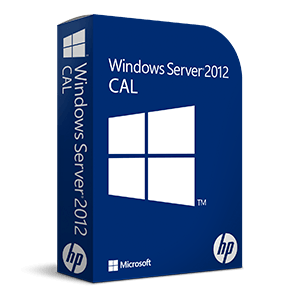 Windows Server 2012 para 5 Usuarios OEM CAL (ROK HP)