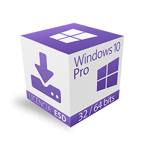 Windows 10 Professional de 32/64 Bits ESD
