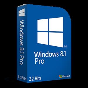 Windows 8.1 Professional de 32 Bits en Español OEM